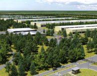 Apple progetta la costruzione di una nuova struttura nell'area urbana di Reno