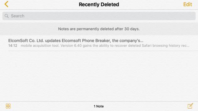 Note Icloud Niente Cancellazione Da Parte Di Apple