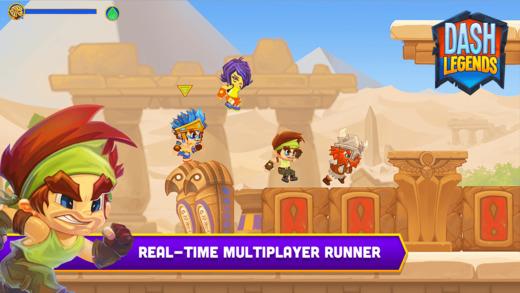 Dash Legends: sfida i tuoi amici in tempo reale