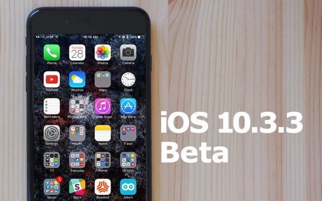 Apple rilascia la beta 4 di iOS 10.3.3