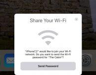 Con iOS 11 sarà più facile condividere la password del tuo Wi-Fi con gli amici