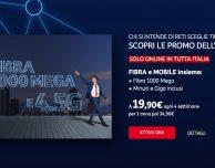 TIM Fibra + Mobile in offerta per tutto il mese di luglio!