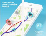 Con Waze puoi registrare la tua voce per le indicazioni turn-by-turn