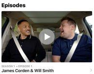 """Apple pubblica la prima puntata di """"Carpool Karaoke: The Series"""""""