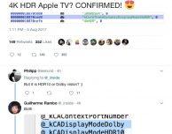 Apple TV 4K HDR confermata nel firmware dell'HomePod?