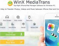 WinX MediaTrans, l'alternativa ad iTunes per gestire i device iOS, si aggiorna!