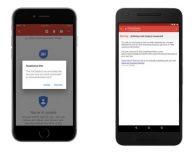 Gmail per iOS: Google migliora la sicurezza anti-phishing