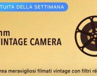8mm Vintage Camera è la nuova applicazione gratuita della settimana scelta da Apple