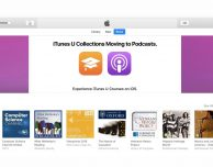 Le iTunes U Collections saranno spostate nei podcast Apple
