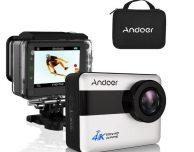 Da Andoer la Action Cam 4K con schermo touch e app per iPhone