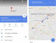Google Maps consente ora di misurare le distanze