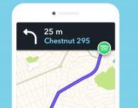 Spotify è ora integrato in Waze per iOS