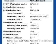 "Appe registra il marchio ""Apple Pay Cash"" in Europa"
