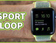 Recensione cinturino Sport Loop per Apple Watch – VIDEO