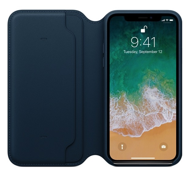 custodia folio iphone x di apple