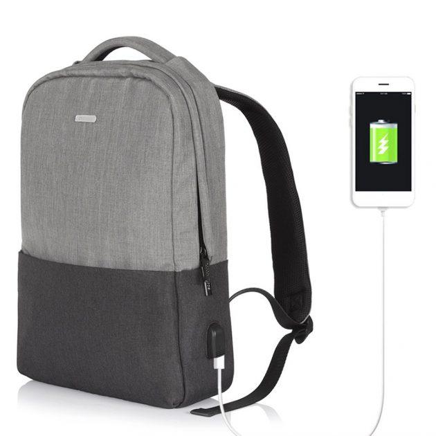 abbigliamento sportivo ad alte prestazioni miglior sito shop Osoce KKmoon, lo zaino impermeabile con porta USB per la ricarica ...