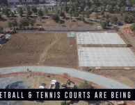 Nuovo video all'Apple Park: iniziano i lavori per i campi di tennis e basket
