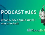 iPhone, iOS e AppleWatch: non solo dati! – iPhoneItalia Podcast #165