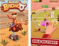 Blocky Bronco: cavalcare un toro meccanico pazzo su iPhone