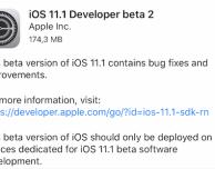 iOS 11.1 beta 2: tutte le novità introdotte su iPhone!