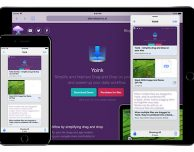Yoink, la popolare app Mac per il drag-and-drop arriva su iOS