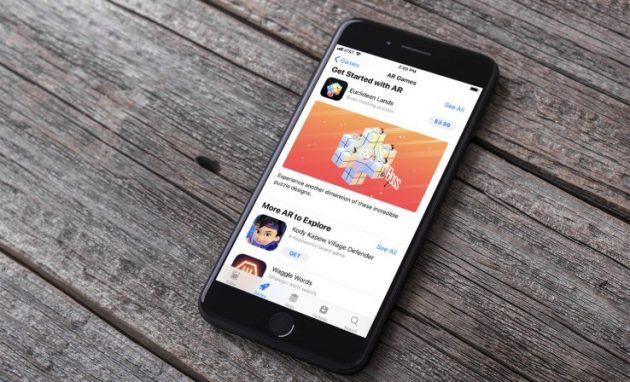 I giochi sono i più popolari tra le nuove app ARKit