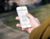 Come salvare una e-mail in PDF su iPhone