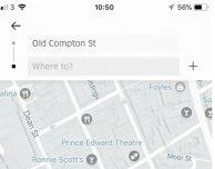 L'app Uber si aggiorna con le destinazioni multiple