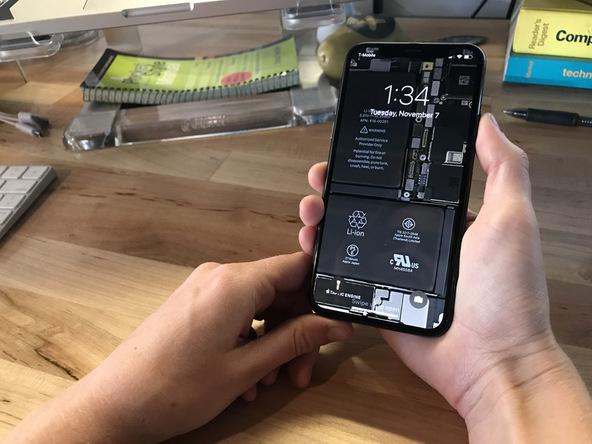 Ecco Lo Sfondo Ifixit Che Mostra Linterno Delliphone X Iphone
