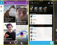 Ecco la nuova interfaccia di Snapchat