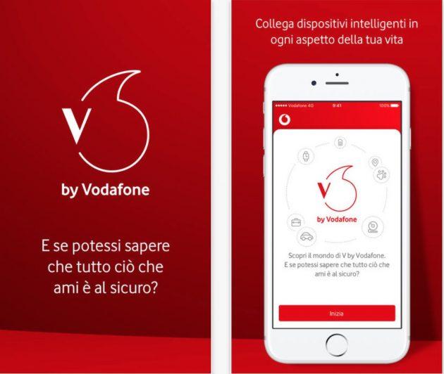 68e89503a0ba V by Vodafone è un vero e proprio ecosistema che consente di connettere e  gestire una varietà di oggetti IoT