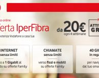 Super offerta Vodafone ADSL e Fibra, solo per oggi!