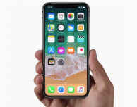 Come visualizzare la percentuale batteria su iPhone X?
