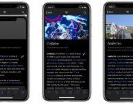 Wikipedia introduce il tema dark per iPhone X