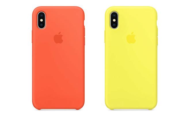 custodia iphone x giallo fluo
