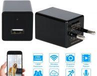 Da KKmoon la telecamera-spia wireless che si collega alla presa elettrica