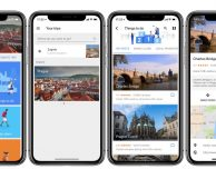Google Trips ottimizzata per iPhone X