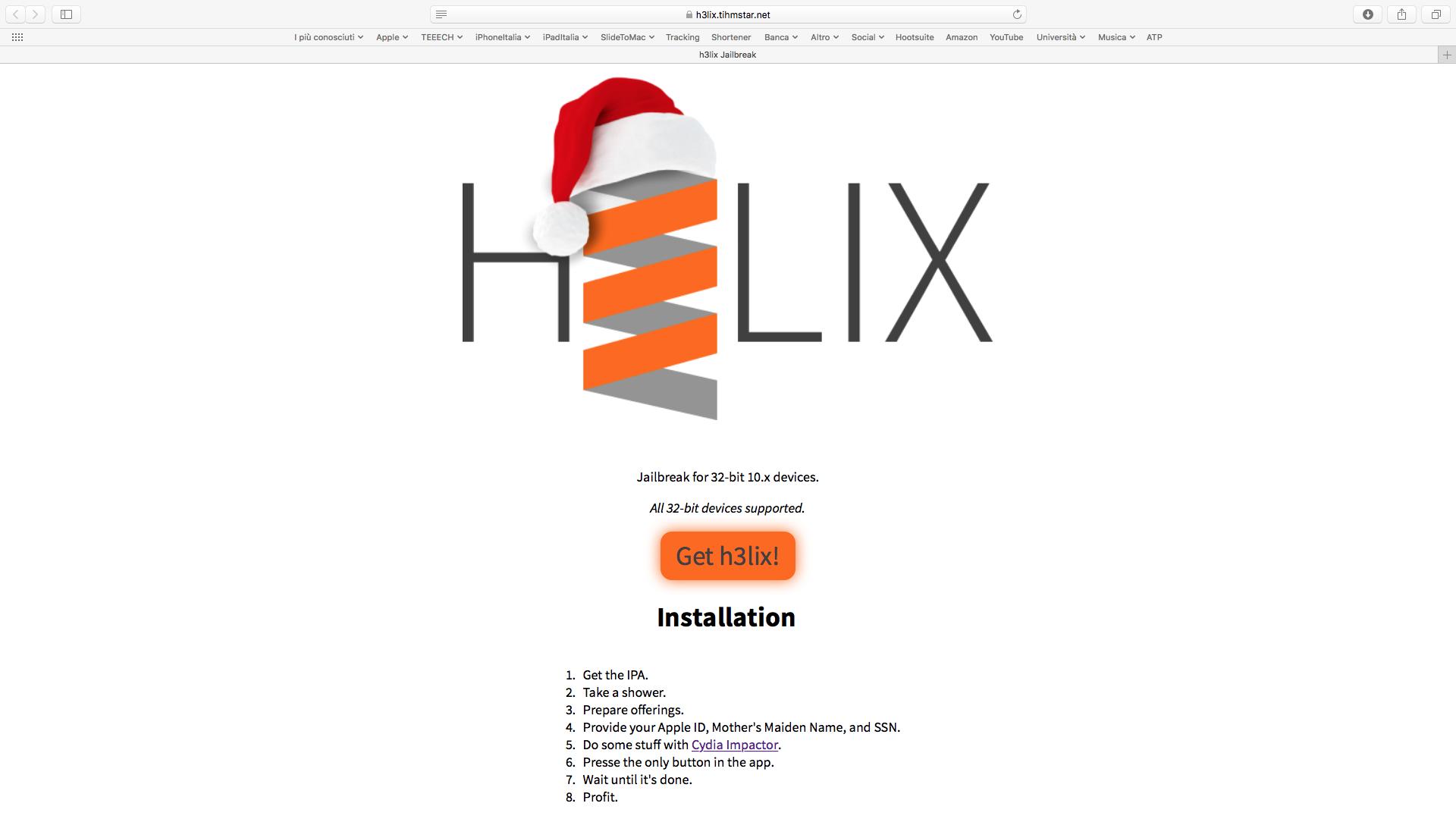 Rilasciato il Jailbreak di iOS 10 3 3 (32-bit): ecco come