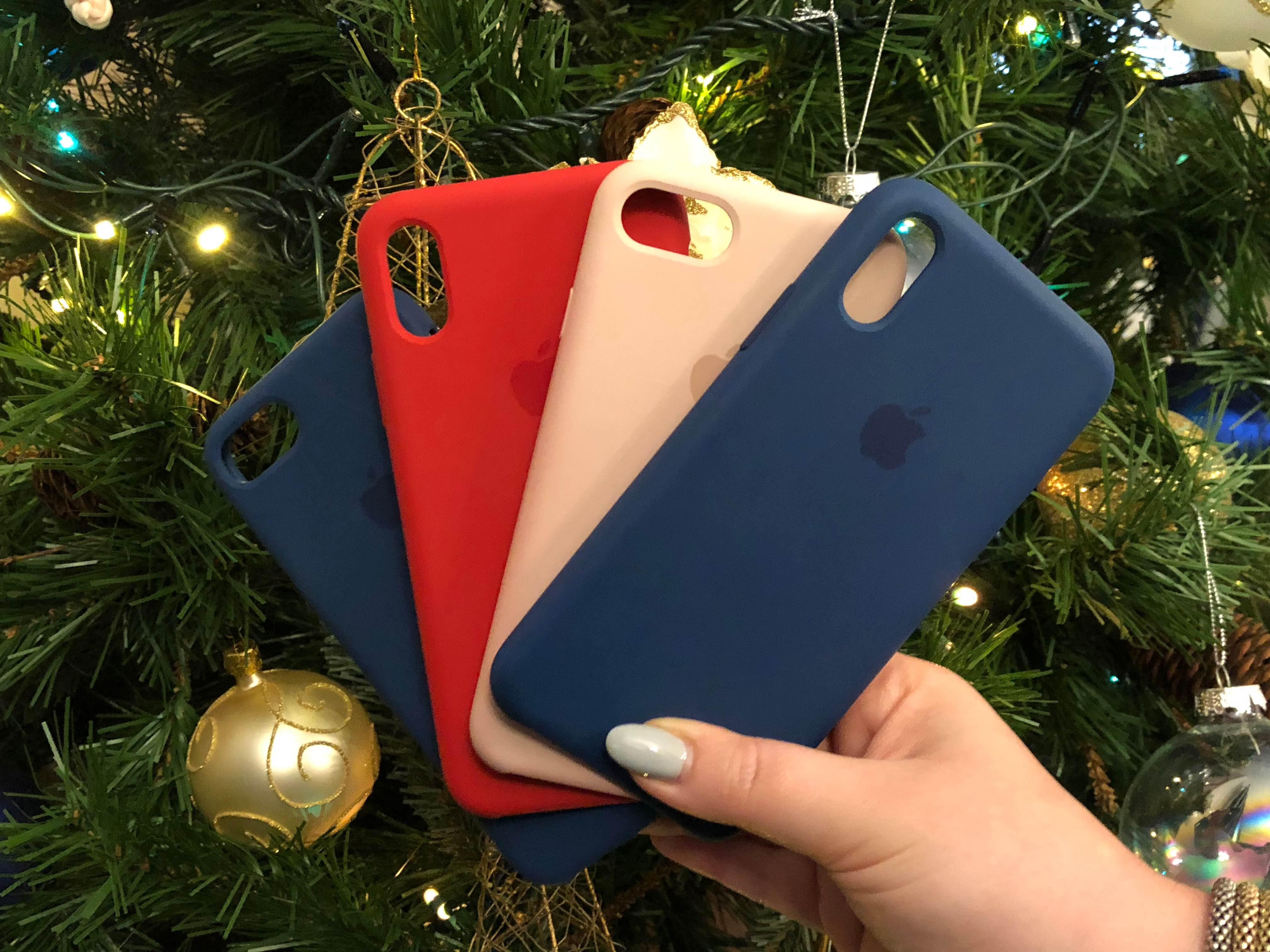 Custodia in silicone per iPhone 8 Plus / 7 Plus - Blu cosmo