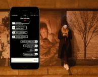 Die With Me, l'app di messaggistica che puoi usare solo se hai meno del 5% di ricarica!