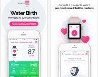 WaterBirth, l'app italiana dedicata al parto in acqua