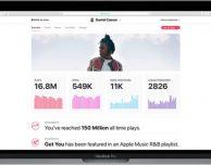 Apple rilascia la nuova dashboard Apple Music for Artists