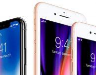 Q4 2017: iPhone 8, 8 Plus e X hanno rappresentato il 61% di tutti gli iPhone venduti negli USA