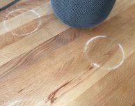 HomePod, il problema degli anelli bianchi sul legno può essere risolto facilmente da Apple
