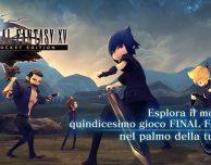 Final Fantasy XV Pocket Edition disponibile su App Store