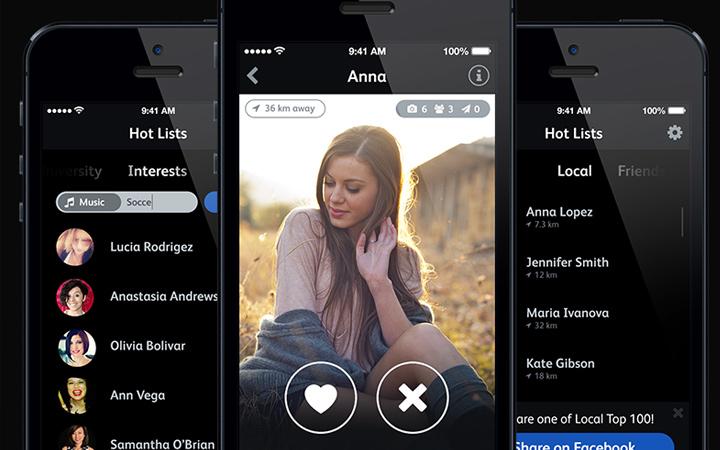 hot dating app iPhone