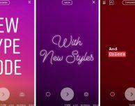 """Instagram introduce la modalità """"Tipo"""" nelle storie"""