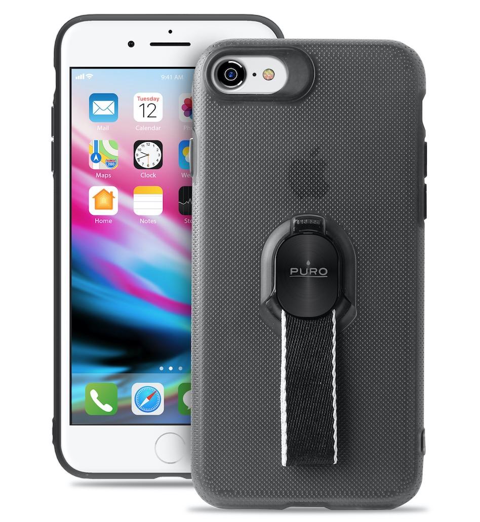 COVER CUSTODIA IPHONE x magnetica apple metallica trasparente