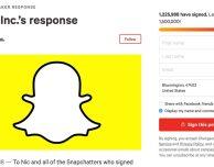 Il nuovo Snapchat non piace, l'azienda risponde alla petizione da 1.5 milioni di firme