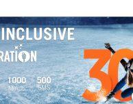 Wind ALL INCLUSIVE Celebration 30: 1.000 minuti, 500 SMS e 30 GB a 10€ – [SOLO PER OGGI]